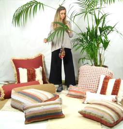 Handmade Pillows & Poufs made in Portugal