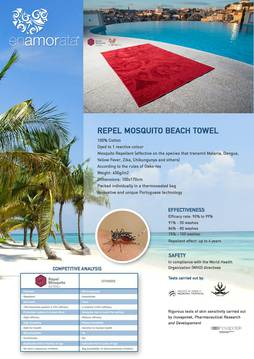 Beach Towel Repel Mosquito