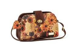 Cork Handbag WIEN Autumn Wood