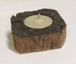 Base of natural cork candles