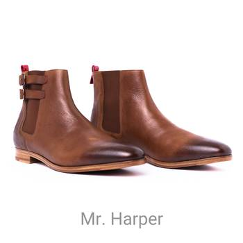 Mr Harper - Brown Boots