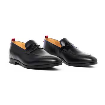 Mr Austin - Black Loafers Shoes