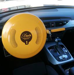 Anti-Theft Lock Xlock Steering wheel tot 39 cm